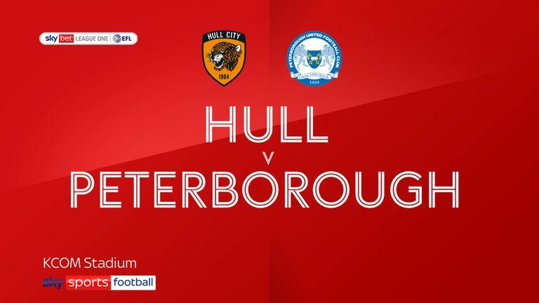 Hull v Peterborough