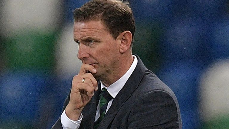 Northern Ireland manager Ian Baraclough
