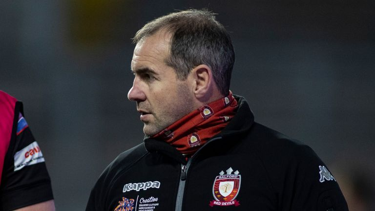 Ian Watson is targeting a strong end to the season for Salford, starting with Friday's clash with Wigan