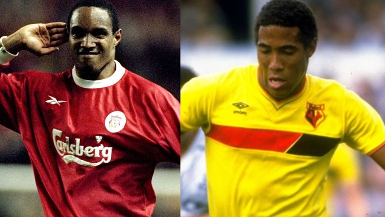 Paul Ince and John Barnes