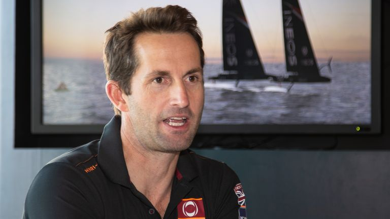 Sir Ben Ainslie is at the heart of INEOS TEAM UK's quest to secure the America's Cup for the first time (Copyright: Paul Laurie - Point Photography)