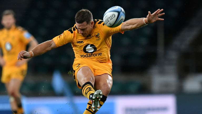 Wasps centre Jimmy Gopperth kicked the opening points on 13 minutes