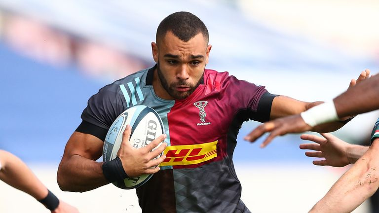 Harlequins centre Joe Marchant has  been called into the squad