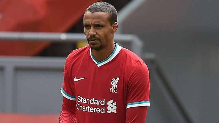 Joel Matip ahead of Liverpool's pre-season clash with Blackpool