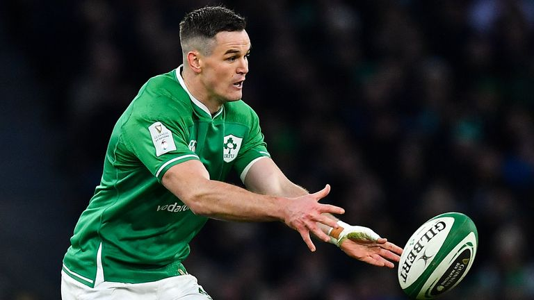 Skipper Johnny Sexton says he believes Ireland can score the four tries required to win with a bonus-point in France