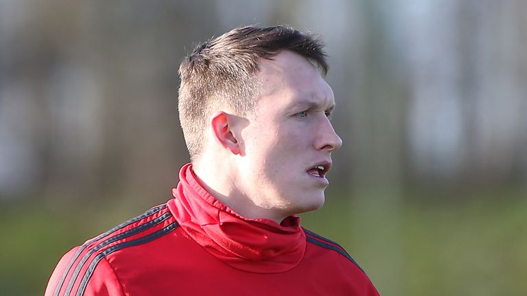 Phil Jones has not played for Man Utd since January
