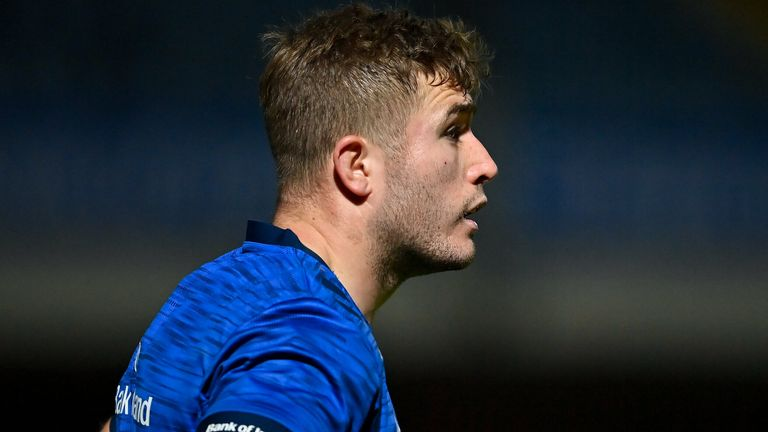 Jordan Larmour was injured against Benetton over the weekend