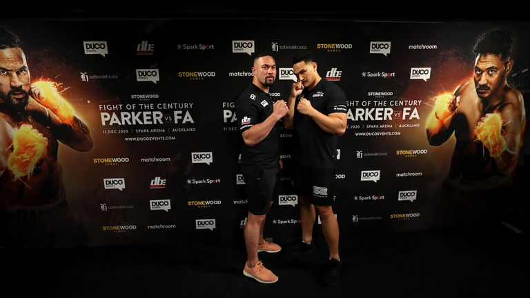 Parker and Fa will collide on December 11 in their home country