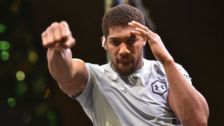 World heavyweight champion Anthony Joshua has called for change in Nigeria