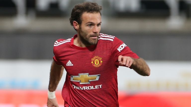 Juan Mata produce an excellent performance against Newcastle