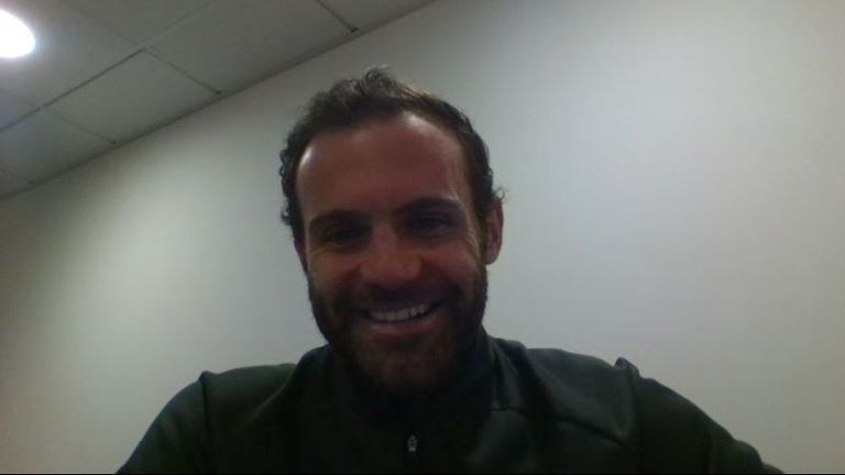 Juan Mata was the special guest on this week's Pitch to Post Preview podcast