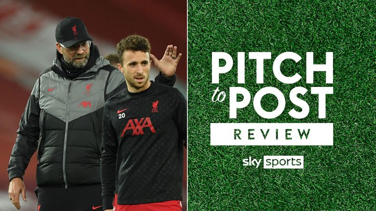 Jurgen Klopp Liverpool pitch to post