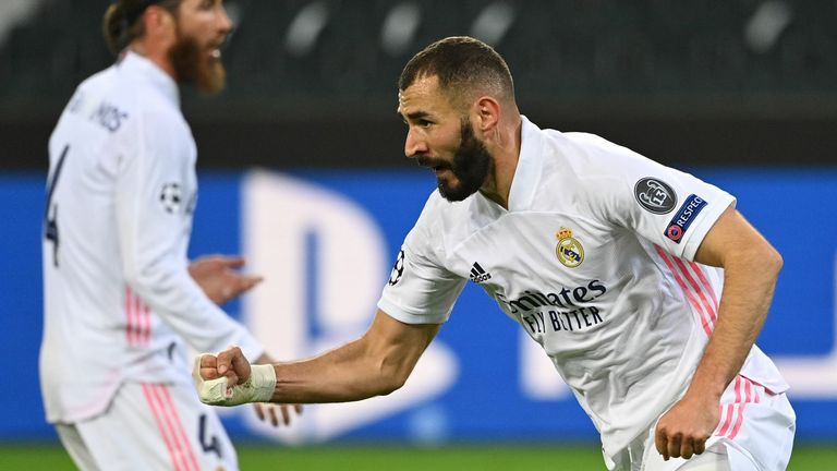 Karim Benzema hauled Madrid back into the contest in the 87th minute