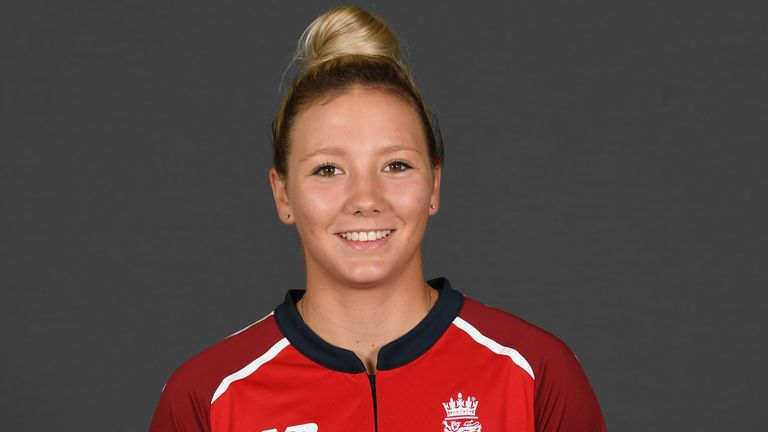 Katie George has played two ODIs and five T20 internationals for England Women so far