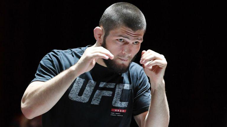 UFC 254 news: Coach hails Khabib Nurmagomedov's wrestling ...   Khabib