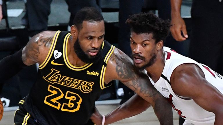 Nba Finals 2020 Intensity Rises For Lakers And Heat As Game 6 Looms Nba News Sky Sports