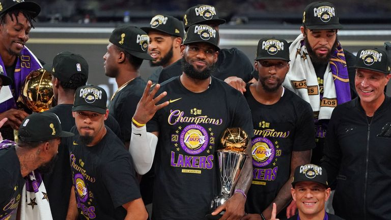 LeBron James was instrumental for the LA Lakers and secured his fourth NBA title