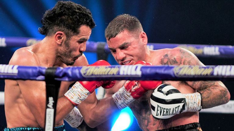 Miguel Vazquez was beaten on points by Lewis Ritson