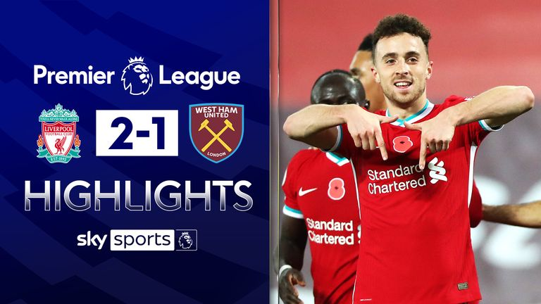 Liverpool 2-1 West Ham
