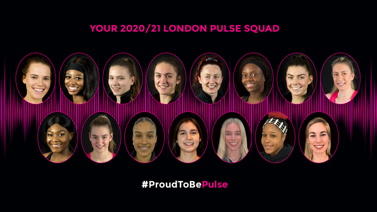London Pulse announce squad for 2021 Vitality Netball ...