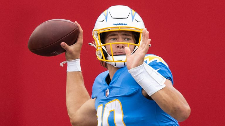 Justin Herbert was confirmed as starter ahead of the Chargers' Week Five matchup with the New Orleans Saints