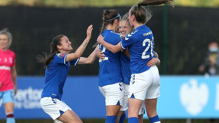 Women S Super League Round Up Arsenal And Everton Maintain Perfect Starts Football News Sky Sports