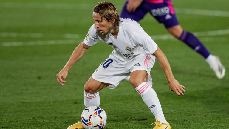 Real Madrid midfielder Luka Modric remains Croatia's star play