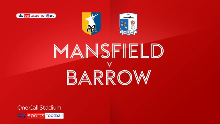 Mansfield v Barrow