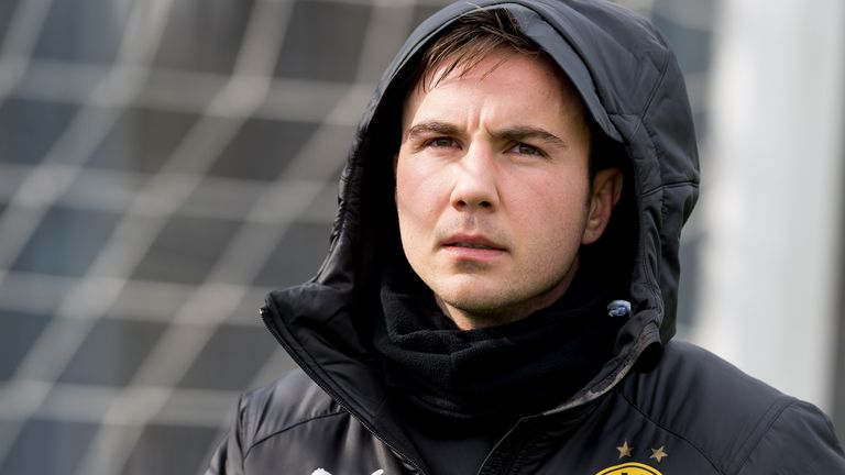Mario Gotze joins PSV on a two-year deal