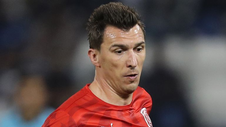 Mario Mandzukic only made a handful of appearances for Al-Duhail