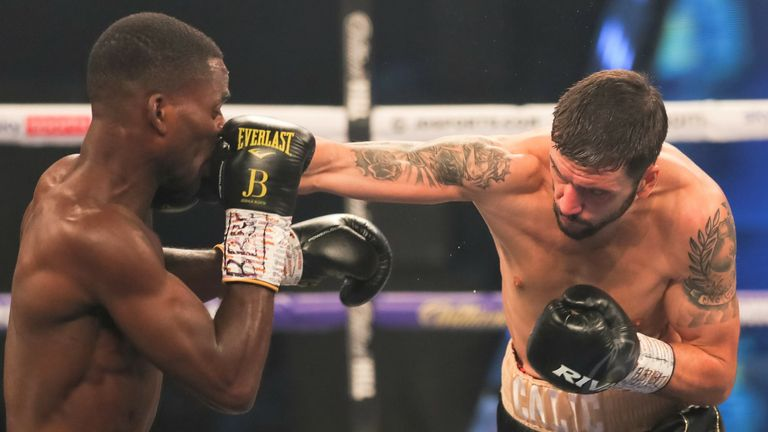 Calic had troubled Buatsi in the early rounds