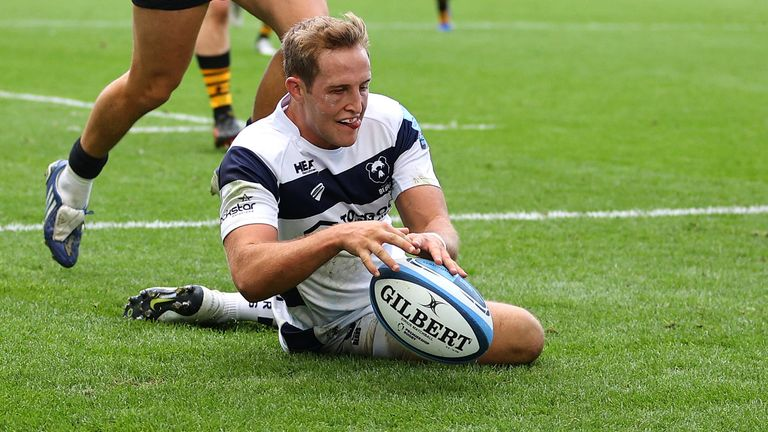Malins has been on loan at Bristol this season, with club Saracens in the Championship