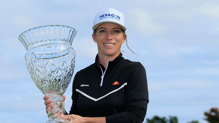 Mel Reid claimed her first LPGA Tour victory at the Shoprite LPGA Classic