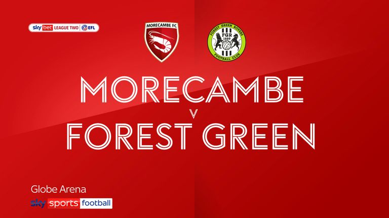 Morecambe Forest Green