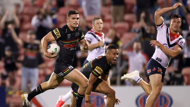 Nathan Cleary has played a big part in Penrith's run to the final