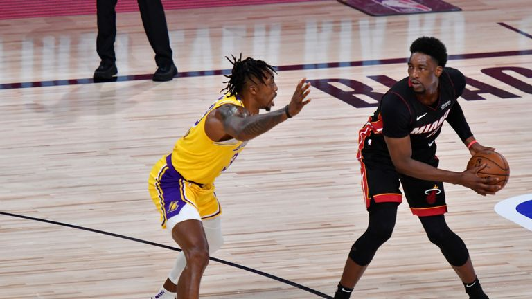Will Bam Adebayo's return from injury help the Miami Heat level the NBA Finals against the Los Angeles Lakers in Game 4?