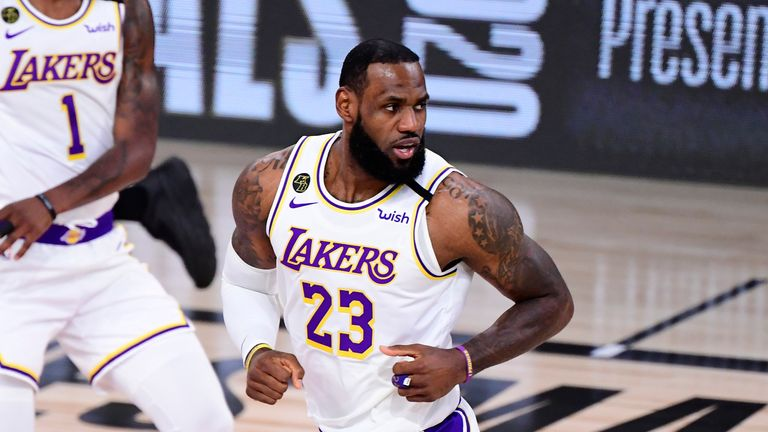 Despite contributing 25 points, LeBron James and the Los Angeles Lakers fell to a Game 3 loss at the hands of Miami in the NBA Finals.