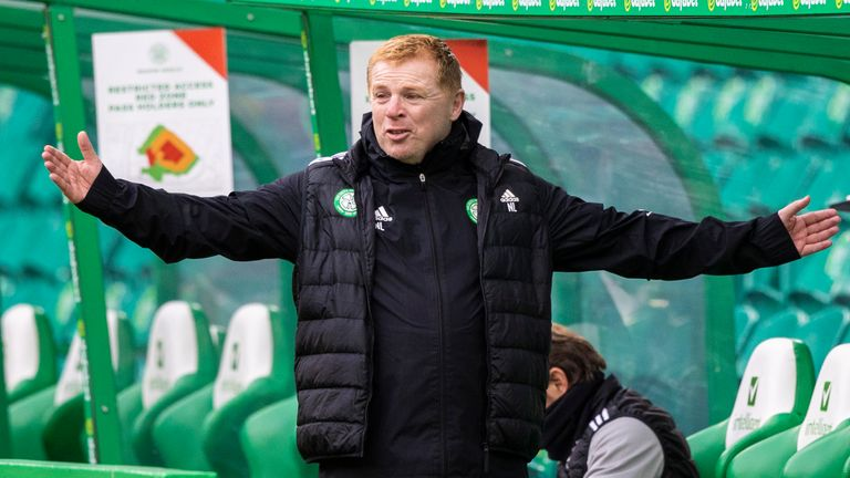 Celtic manager Neil Lennon has questioned his side's commitment and focus in recent press conferences