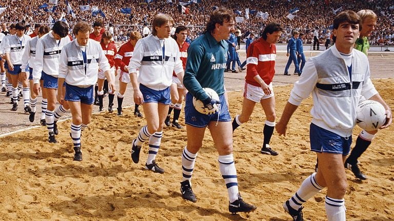Southall played in the 1985 FA Cup final, in which Everton were beaten 1-0 by Manchester United