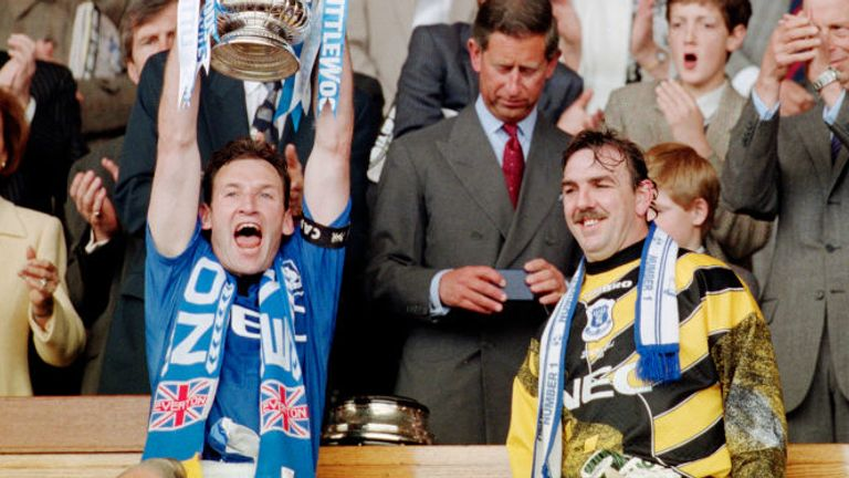 Southall won another FA Cup with Everton in 1995