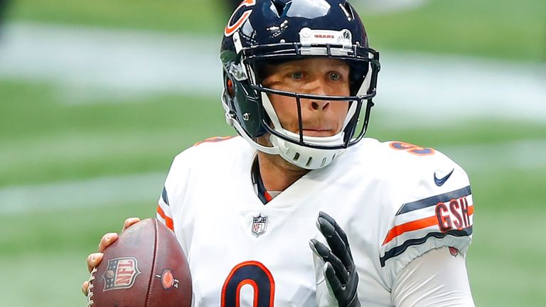 Nick Foles and the Chicago Bears are 5-1 on the season through the first six weeks of the campaign