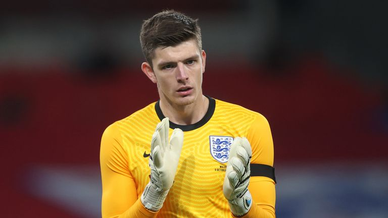 Nick Pope had an impressive night for England against Wales