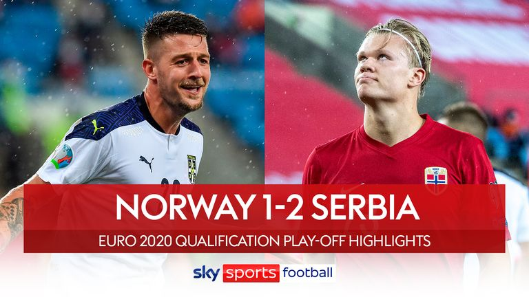 Norway v Serbia in the Euro Qualifiers
