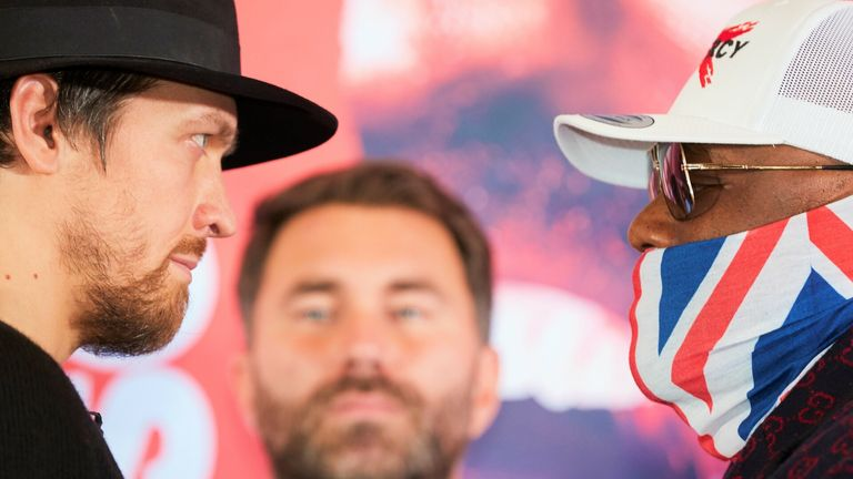 Oleksandr Usyk faces Derek Chisora tonight, live on Sky Sports Box Office