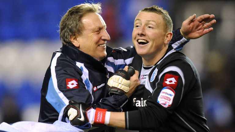Paddy Kenny and Neil Warnock won promotions together at Sheffield United and QPR