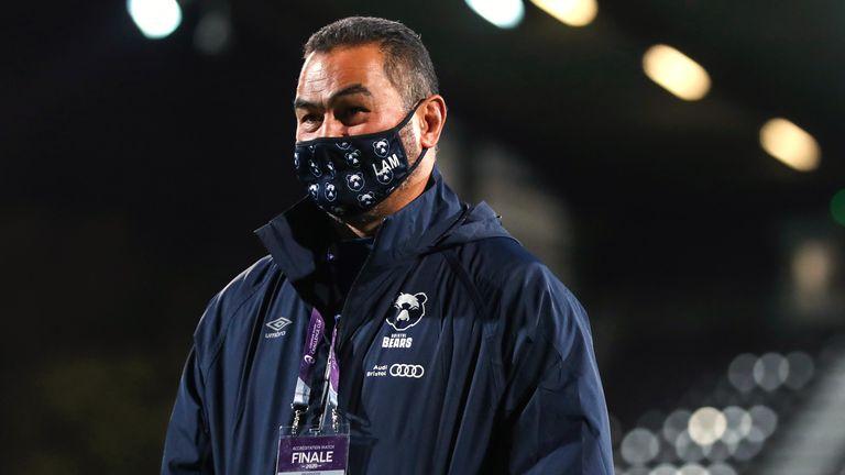 Bristol coach Pat Lam has guided his side to European success
