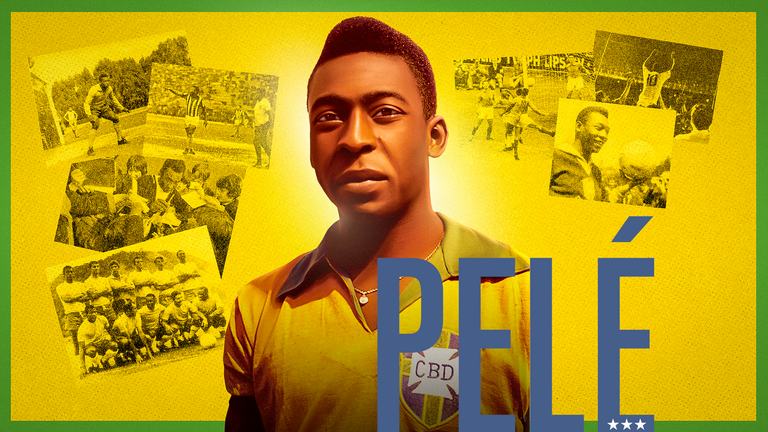 Legendary Brazil player Pele