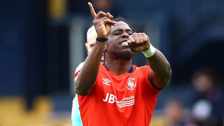 Pelly Ruddock-Mpanzu's stunner put Luton ahead against Wycombe