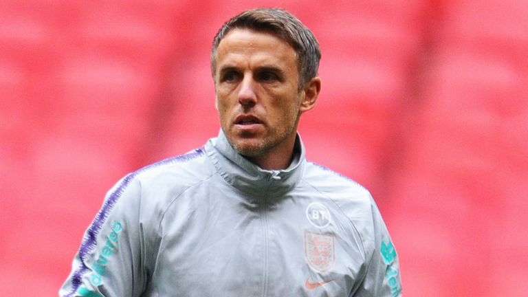 Phil Neville would like manage Team GB at the Tokyo Olympics
