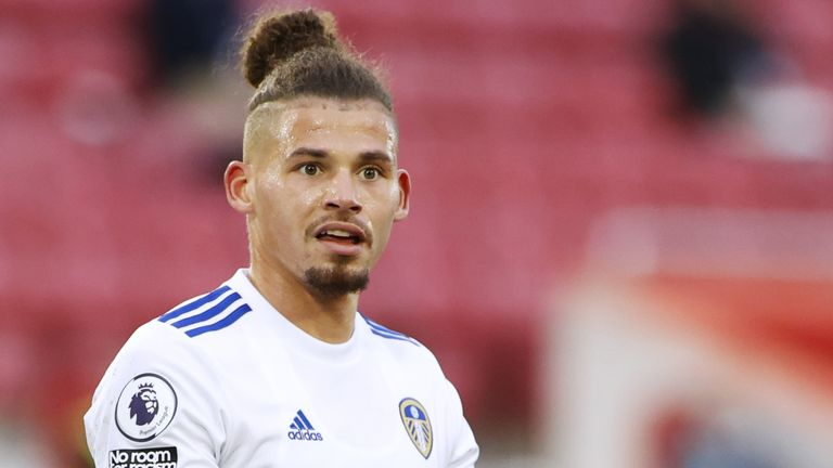 Kalvin Phillips could be out until early December after injuring his shoulder in Leeds's defeat to Wolves
